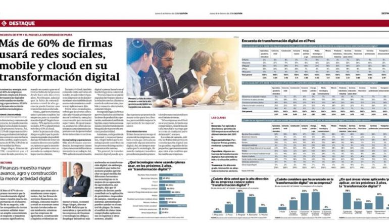 Transformación Digital #RTM #DiarioGestion
